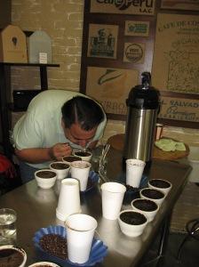 Virtuoso coffee cupping Jan. 2013 002