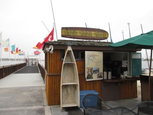 You'll find the Oasis Snack Shack beside the Catamaran pier