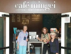 Meet your friends for coffee & a visit to the Mingei Museum.