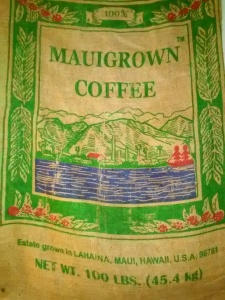Here's to Hawaii, the only U.S. state that grows coffee on a large scale. California may be in the game soon, so stay tuned for San Diego grown coffee...