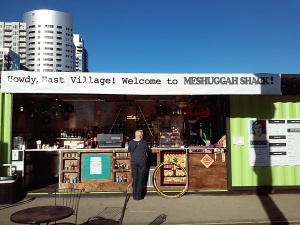 Welcome to the new East Village Meshuggah Shack!