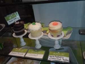 Treat yourself to a cupcake or cookie with your Cuban coffee!
