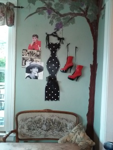Get a book upstairs from their free library and enjoy it under this Audrey Hepburn tree at the Point Loma Living Room.