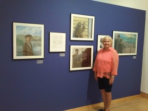 See the exhibit of Helen's book, Paper Son.