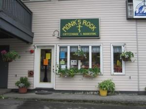 Monk's Rock Coffee is at 202 E. Rezanof Dr. in Kodiak, Alaska.