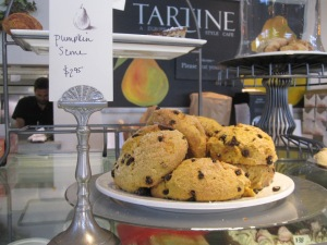 Scones & coffee are a treat at Tartine