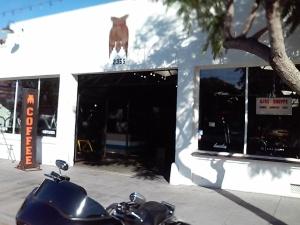 """The Space"", a former mechanics garage"