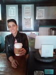 Brandi has put her heart in the coffee business