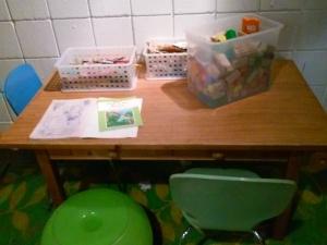 a corner for kids